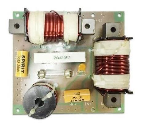 Crossover Pasivo De 3 Vías 4khz-750hz-260hz 300w
