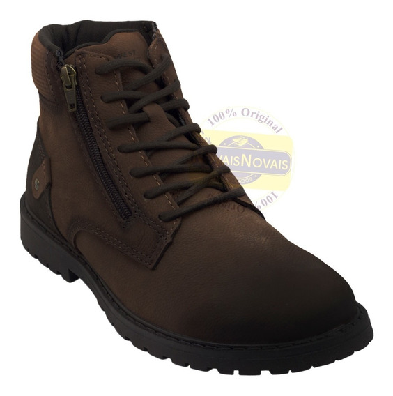 Bota Coturno West Coast 1290007 100% Original Loja C N N