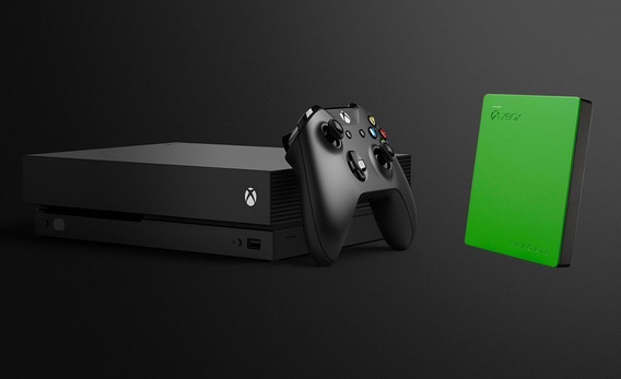 Xbox One X + Hd Externo 2tb Oficial Xbox