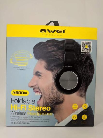 Headphone Dobrável Bluetooth Da Awei