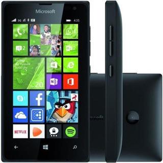 Microsoft 435 Windows Phone 8.1 Tela 4 Dual Chip - Semi Novo