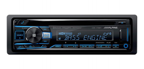 Estéreo para auto Alpine CDE-175BT con USB y bluetooth