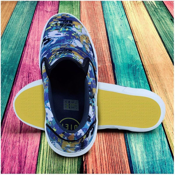 Tênis Slip On Neoprene Estampado Diem