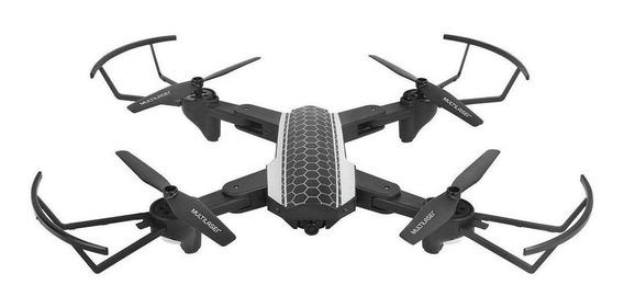 Drone Multilaser Shark ES177 con câmera HD Preto/Cinza