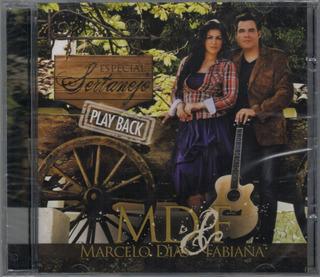 Playback Marcelo Dias & Fabiana - Especial Sertanejo