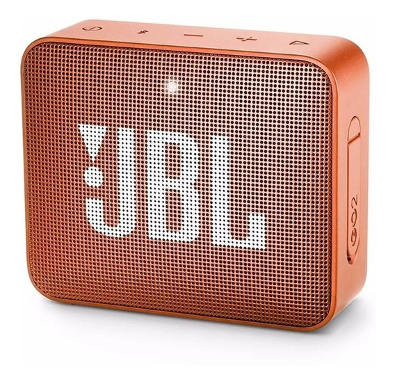 Caixa De Som Jbl Go 2 Bluetooth Prova Água Laranja Lacrada