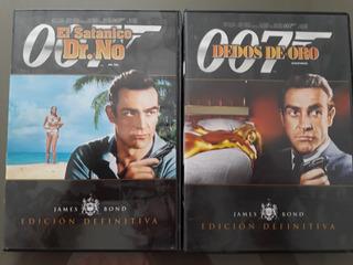 James Bond 007 La Colección Definitiva 2 Dvds Originales