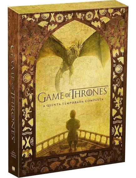 Game Of Thrones - A Quinta Temporada, Com 5 Dvds