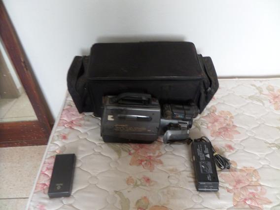 01 Câmera Filmadora Sharp Antiga.