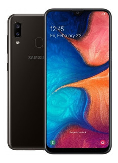 Celular Libre Samsung Galaxy A20 Negro/azul