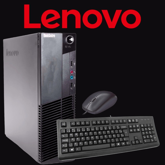 Pc/ Cpu Lenovo Core I5 4gb Hd 500 + Brinde A Pronta Entrega