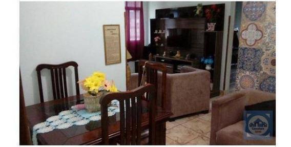 Apartamento Com 2 Dormitórios À Venda, 70 M² Por R$ 211.000,00 - Saboó - Santos/sp - Ap3449