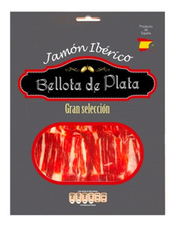 Jamón Ibérico Recebo Bellota De Plata Pieza De 100 Gr