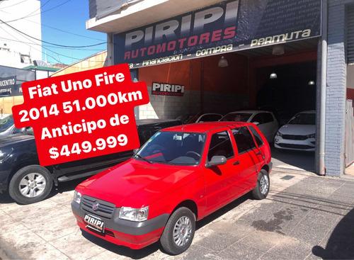 Fiat Uno 1.3 Fire Con Aire, $449.999 Y Cuotas