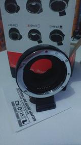 Adaptador Lente Canon Ef-m43 Mft