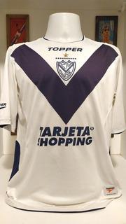 Camisa Futebol Velez Sarsfield Topper 2005