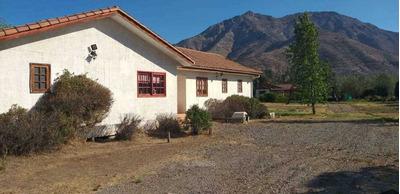 Parcela Con 2 Casas En Haras De Pirque