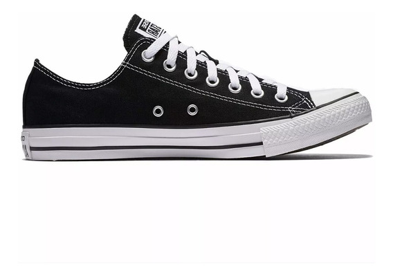 Tênis Converse All Star Ct As Core Ox Preto E Rosa Ct0001 Original