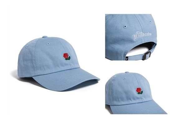 Boné The Hundreds Aba Curva Rose Dad Hat - Pronta Entrega