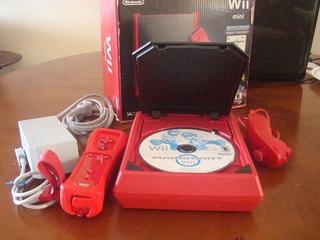 Oferta!!! Nintendo Wii Mini Rojo