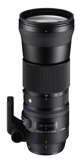 Lente Sigma 150-600mm F5-6,3 Nikon 4 Años Garantia Oficial