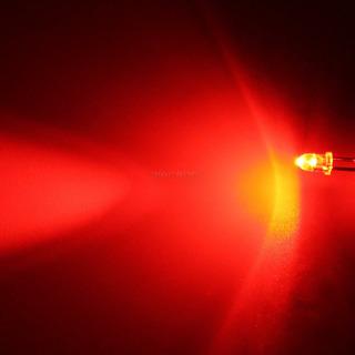 Kit 10 Leds Rojo 3mm Ultrabrillante