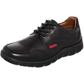 Zapato Escolar Marca Elefante 15618-001 De Piel Dog