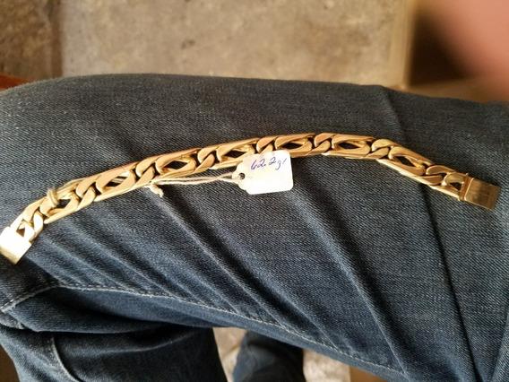 Esclava De Oro 10k 62.2gr Muy Gruesa