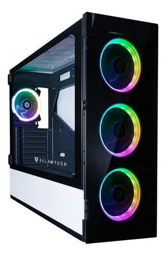 Imagen 1 de 10 de Gabinete Gamer Torre E-atx/atx/micro Atx/mini Itx/argb 3*usb