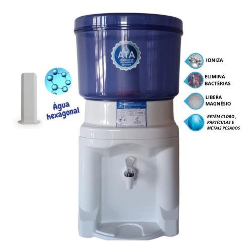 Imagem 1 de 3 de Magnetizador Água Hexagonal + Filtro Água Alcalina