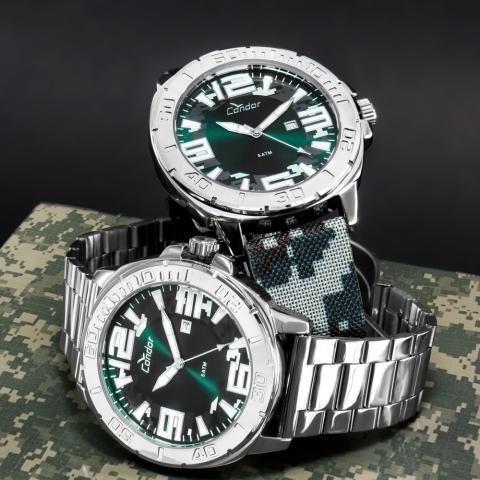 Relógio Condor Masculino Civic Prata Co2115kua/t3a