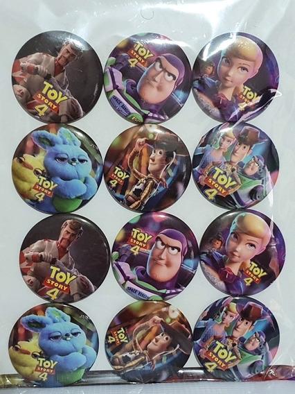 Toy Story Botones Banderin Vasos Plato Fiesta Woody Buzz