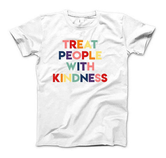Remeras Treat People With Kindness Harry Styles Estampadas