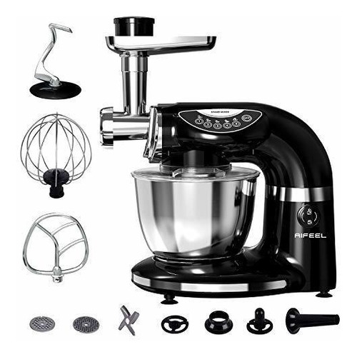 Aifeel Stand Mixer 1000w, 7qt Bowl , 7 In 1 Multifunctional