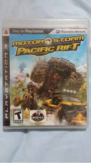 Motorstorm - Pacific Rift (leia) - Mídia Física- Ps3