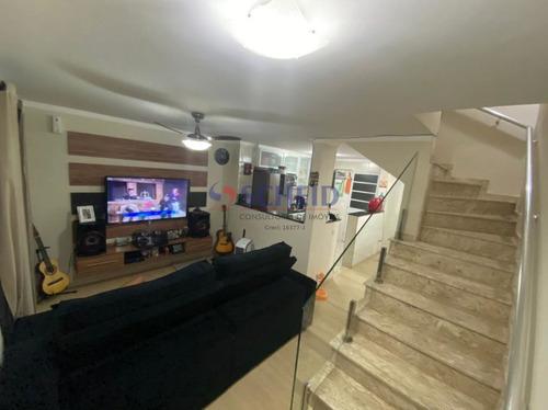 Casa De Condomínio; Dois Dormitórios; Uma Vaga, Vila Santa Catarina - Mc9042