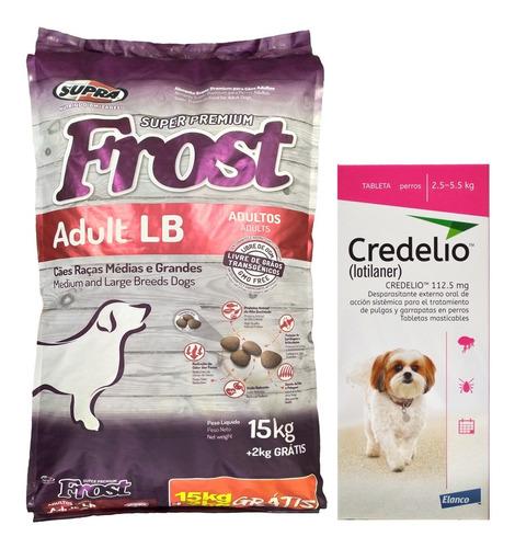Imagen 1 de 2 de Comida Perro Frost Adulto Lb Large Breed 15 + 2 Kg + Regalo