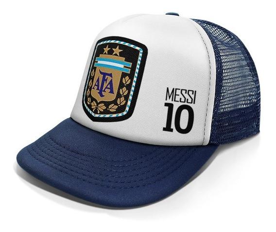 Gorra Trucker Argentina Messi Afa Mundial 2018
