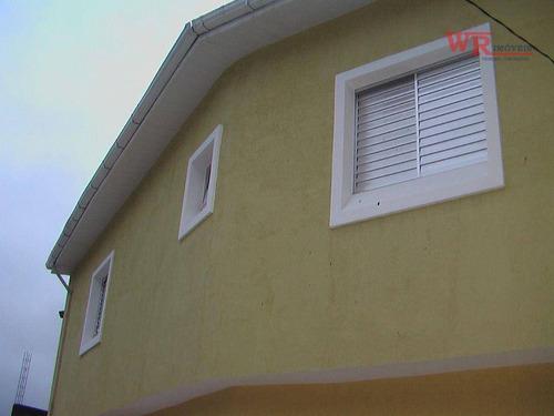 Imagem 1 de 22 de Sobrado Com 3 Dormitórios À Venda Por R$ 480.000,00 - Parque Das Nações - Santo André/sp - So0891