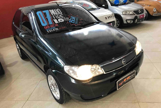 Fiat Palio Fire Economy 1.0 Flex 2007 (verde)