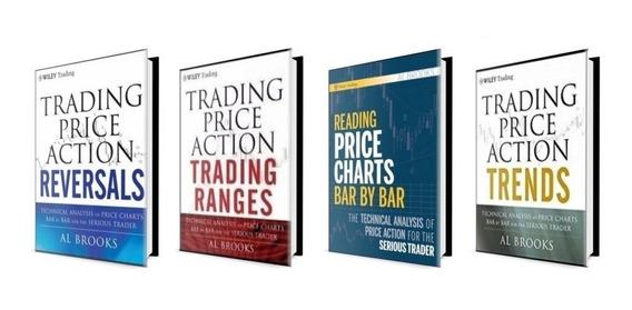 3 Livros Price Action - Al Brooks - Ver.original + 1 Brinde