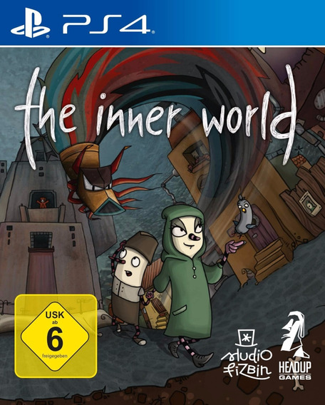 The Inner World The Last Wind Monk Ps4 Midia Fisica