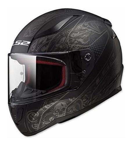 Imagen 1 de 2 de Casco Helmets Rapid Street De Cara Completa (crypt - Grande)