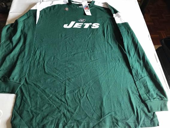 Amf44 Sweater De Los New York Jets Nfl Color Verde