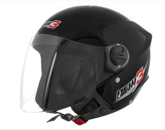 Capacete Pro Tork New Liberty Three 3 Moto Motoqueiro Motobo