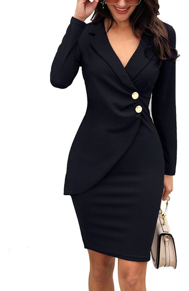 Vestido Formal Para Mujeres Elegantes De Trabajo O F R35433