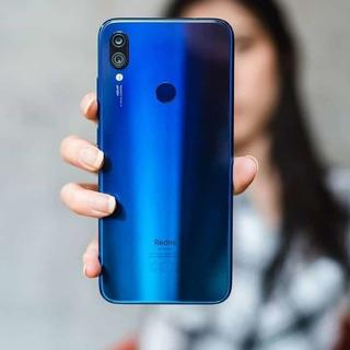 Redmi Note 7 128gb Azul + Pelicula 20d E Capinha Ant-impacto