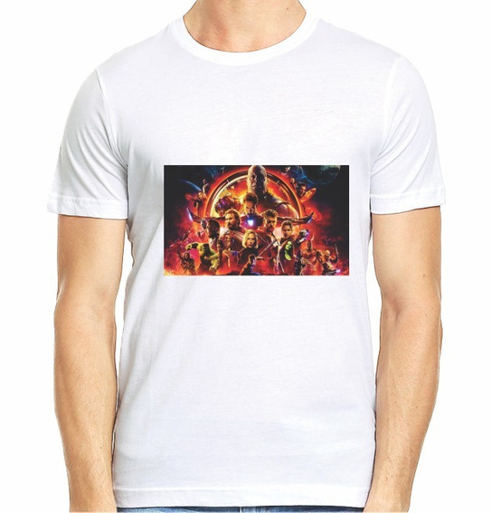 Playera Avengers Portada End Game Caballero