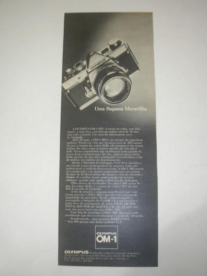 290/ Gfdm100 Propaganda Antiga Câmera Fotográfica Olympus