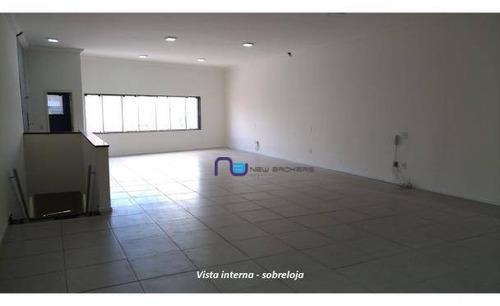 Imagem 1 de 11 de Galpão Para Alugar, 260 M² Por R$ 3.500/mês - Vila Carrão - São Paulo/sp - Ga0590